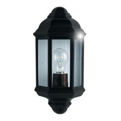 Searchlight 280BK- Outdoor 1lt Outdoor, Black