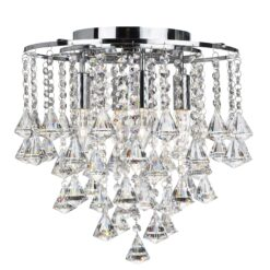 Searchlight 3494-4CC- Dorchester 4lt Multi Arm Pendant, chrome