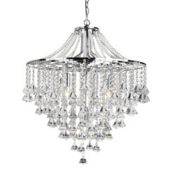 Searchlight 3495-5CC- Dorchester 5lt Multi Arm Pendant, Chrome