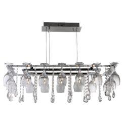 Searchlight 41510-10CC- Vino 10lt Bar Pendant, chrome