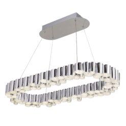 Searchlight 4431CC- Darcy LEDlt Bar Pendant, Chrome