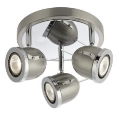 Searchlight 4923SS- Palmer 3lt Spotlight, satin silver