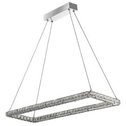 Searchlight 7012CC- Clover 1lt Bar Pendant, Chrome