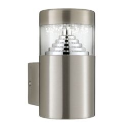 Searchlight 7508- Brooklyn 0lt Outdoor, Stainless Steel