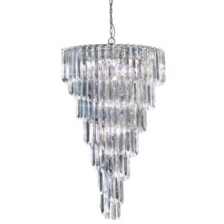 Searchlight 7999-9CC- Sigma 9lt Single Pendant, chrome