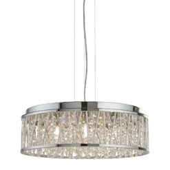 Searchlight 8337-7CC- Elise 7lt Multi Arm Pendant, Chrome